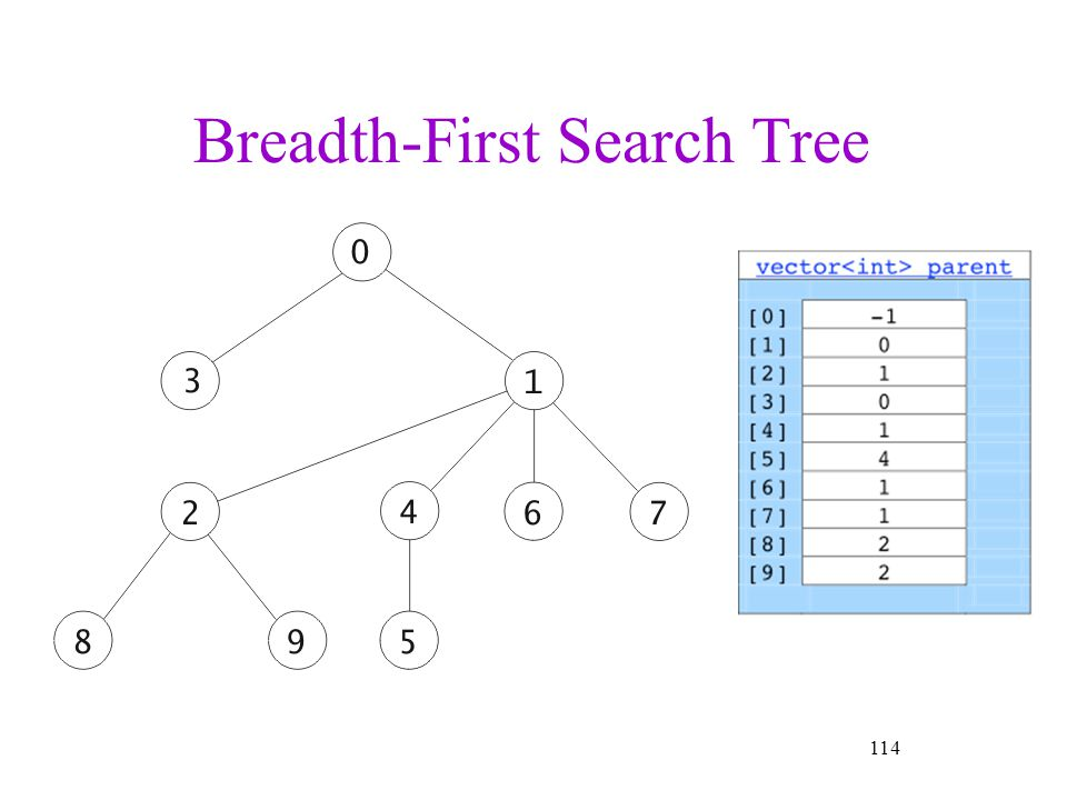 114 Breadth-First Search Tree