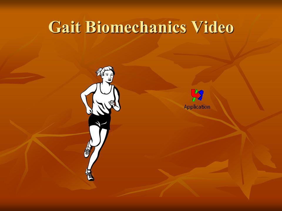Gait Biomechanics Video