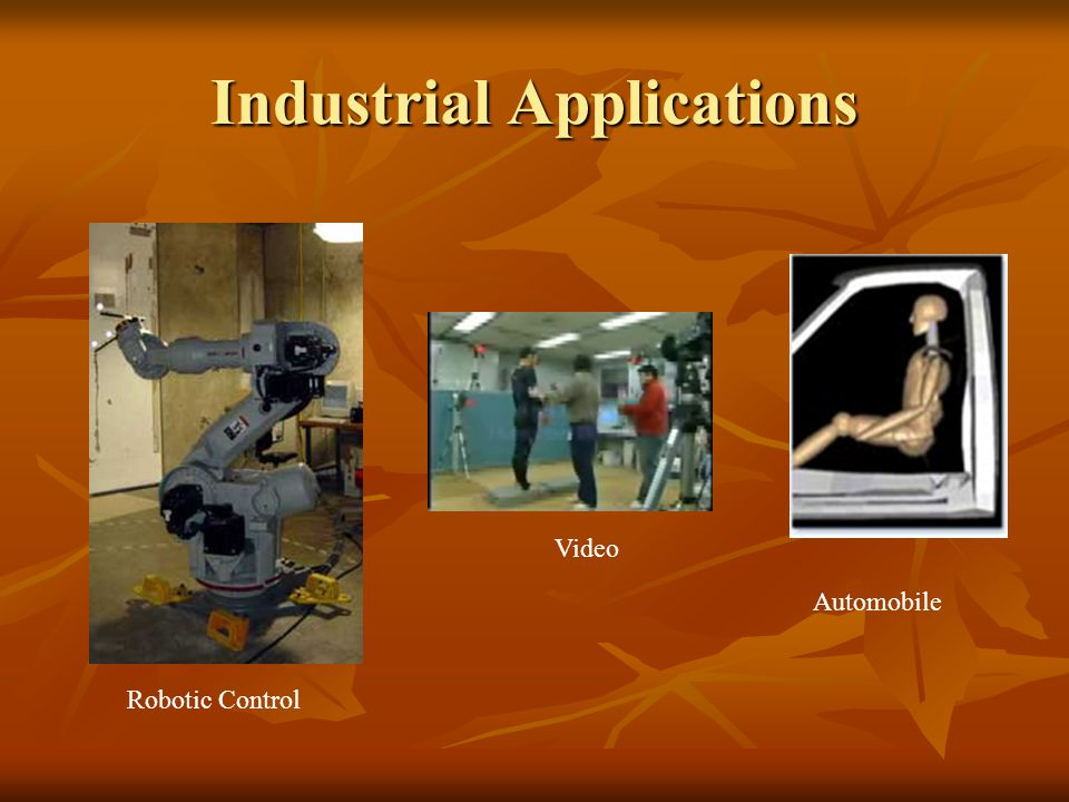 Industrial Applications Robotic Control Automobile Video