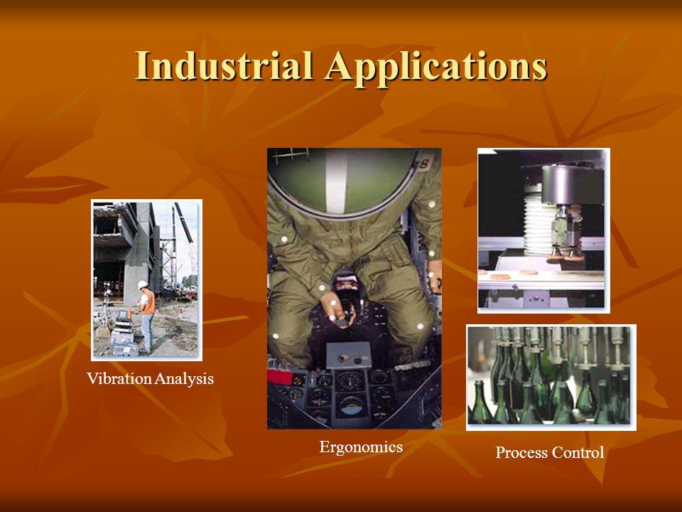 Industrial Applications Vibration Analysis Ergonomics Process Control