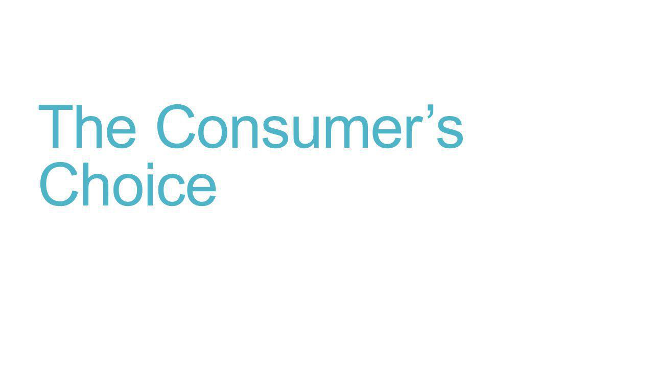 The Consumers Choice