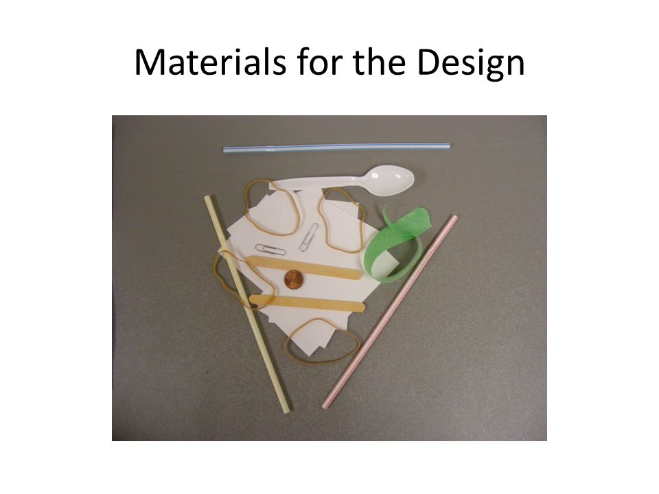 Materials for the Design