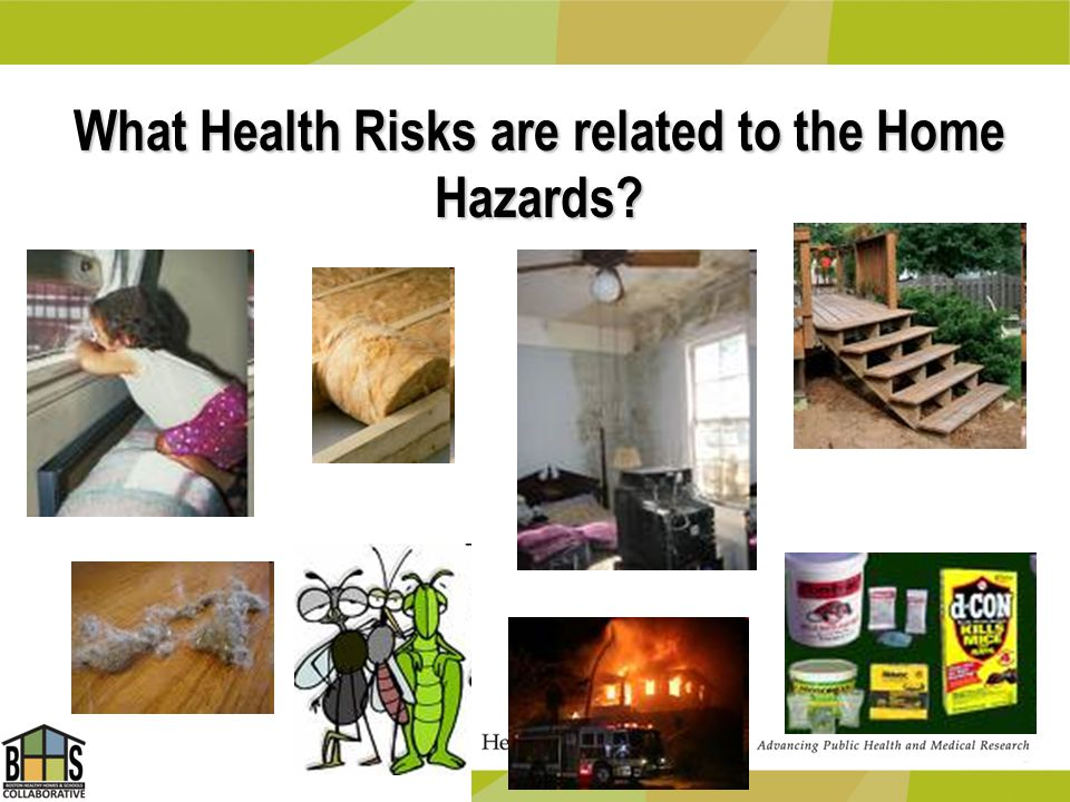 What Health Risks are related to the Home Hazards?