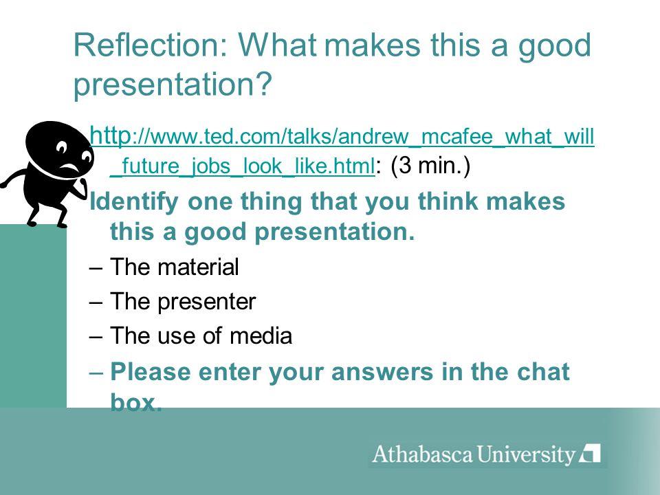 material Prepare the material: Question period