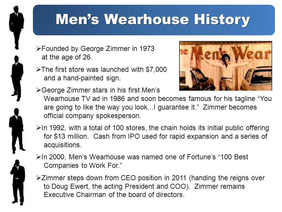 A Brand Identity Crisis Love him or hate him, George Zimmer WAS the brand.
