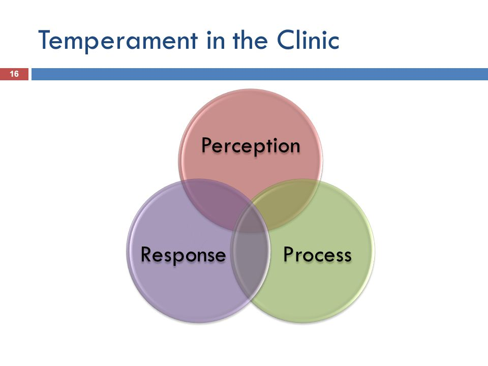Temperament in the Clinic 16