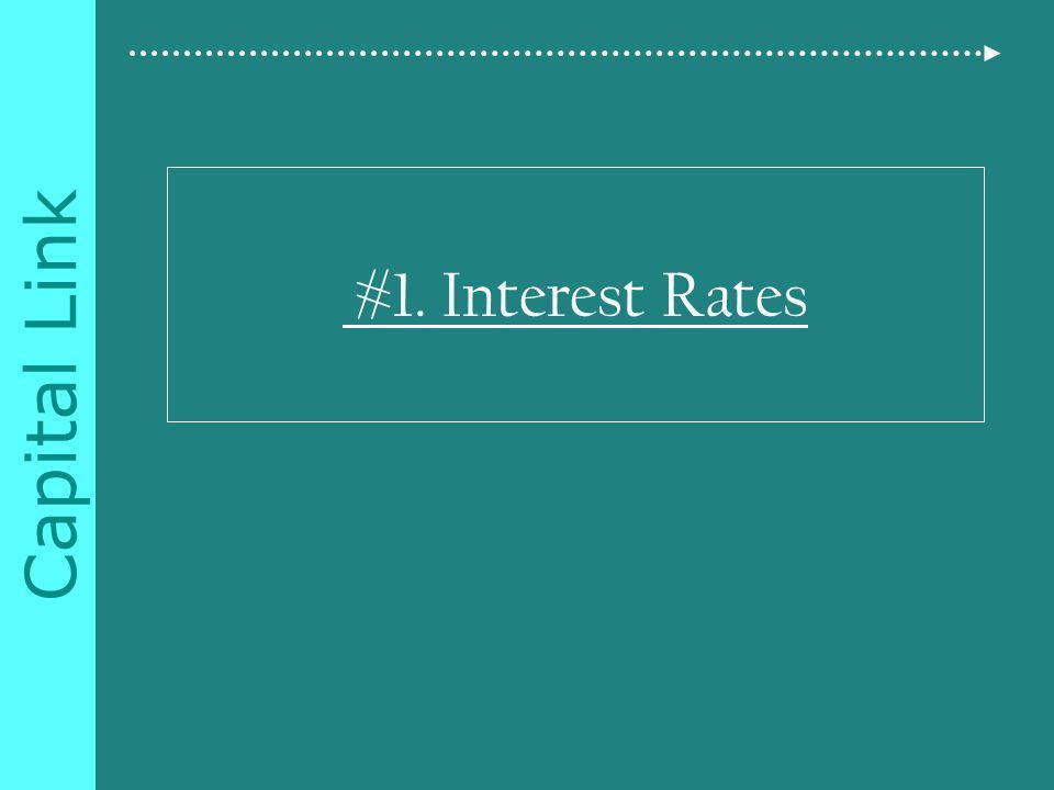 Capital Link #1. Interest Rates