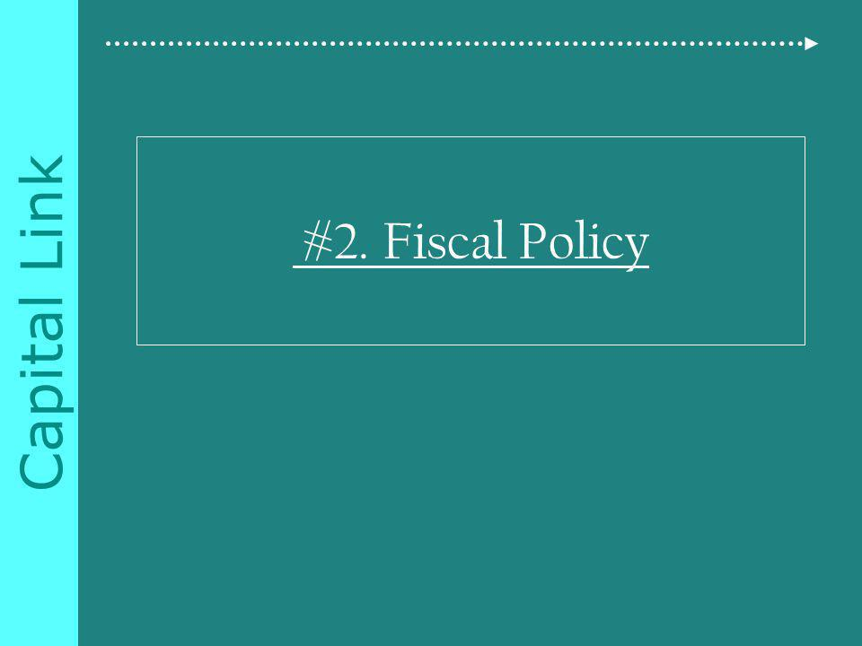 Capital Link #2. Fiscal Policy