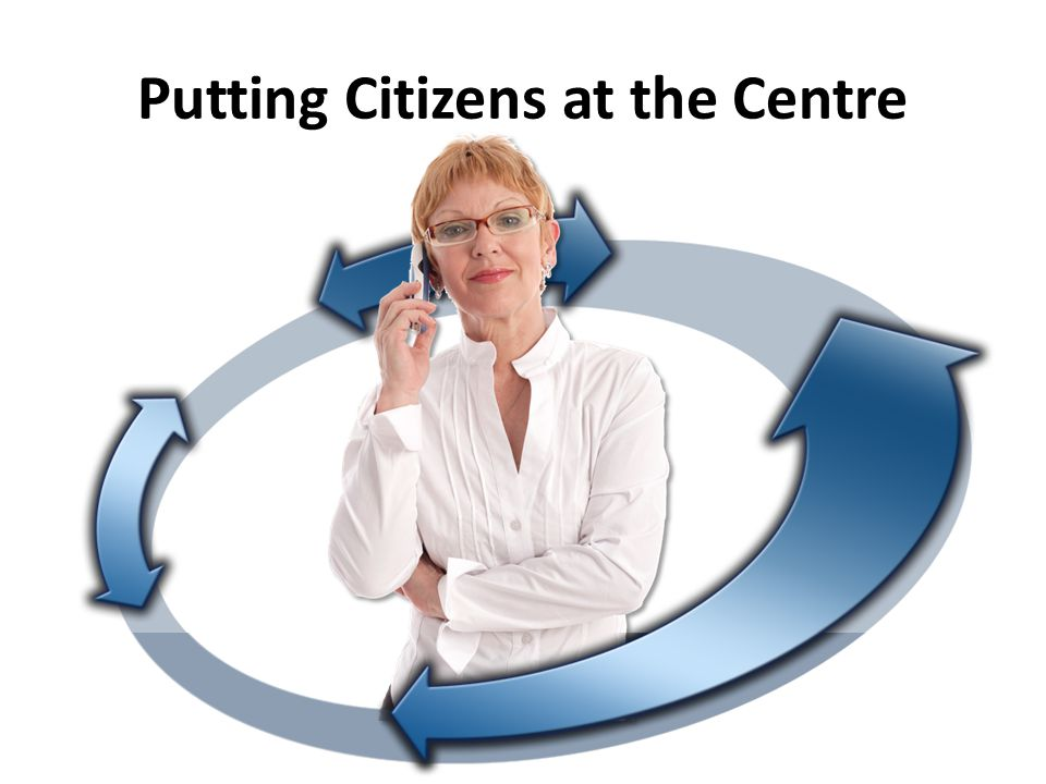 Putting Citizens at the Centre