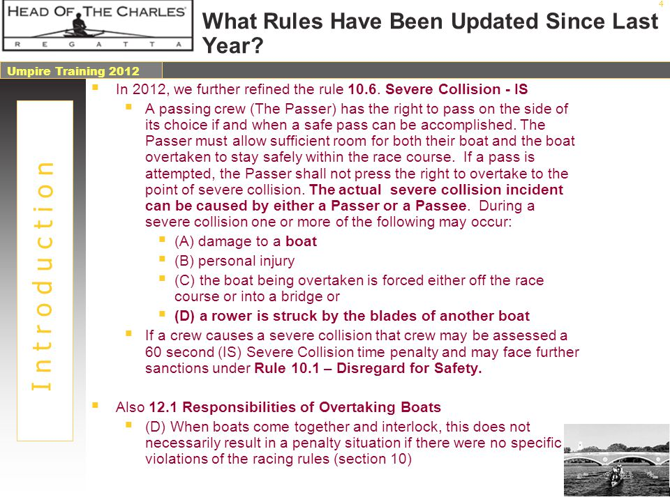 Umpire 2007 Umpire Training 2012 35 Safety Logistics – Emergency Services Along the course we will have...