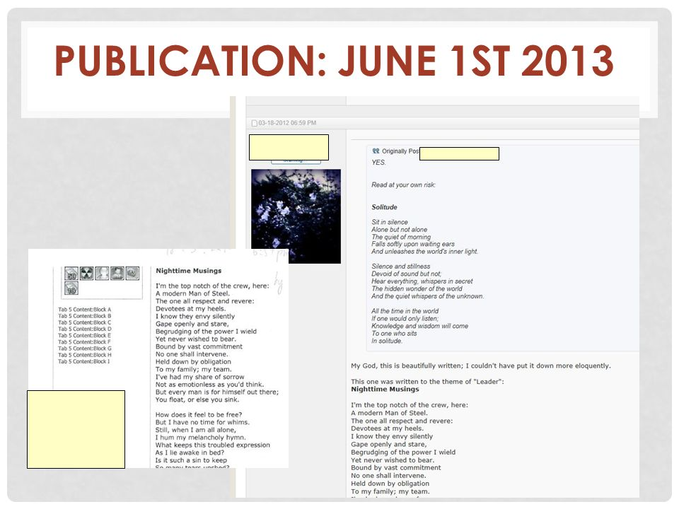 PUBLICATION: JUNE 1ST 2013 63