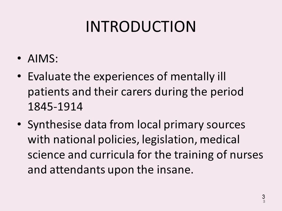 REFERENCES Nolan, P.(1993). A History of Mental Health Nursing.