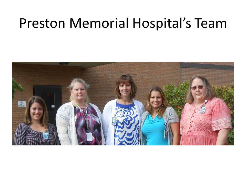 Preston Memorial Hospitals Team