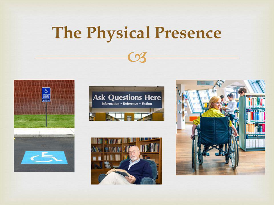 The Physical Presence
