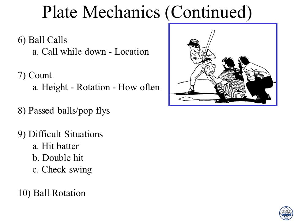 Plate Mechanics 1) Stance a. Feet - Knees - Back - Shoulders 2) Working the Slot a. Toe/heel - Scissors - Hooker 3) Set Position a. Timing - Set outsi