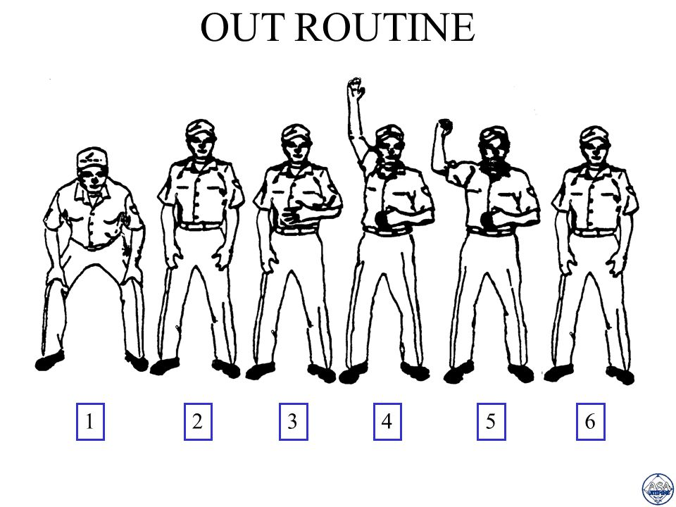 OUT ROUTINE 564321