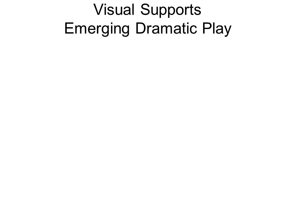 Visual Supports Play Sequences Create picture schedules of play scenarios with sequenced steps 3-Step Sequencing Cards: Cooking