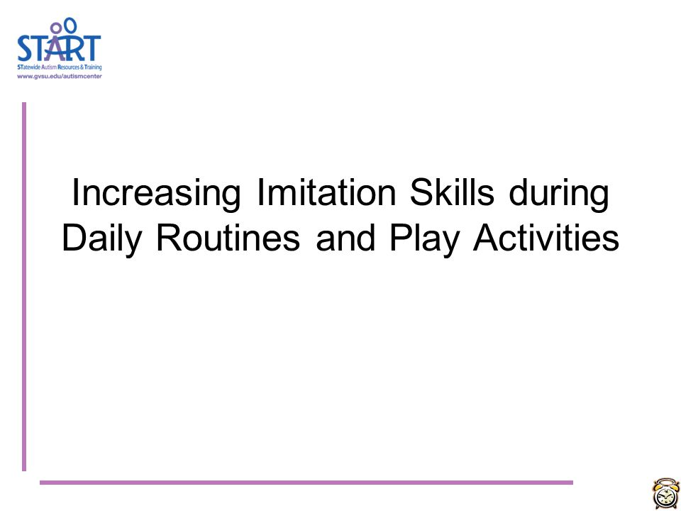 SUMMARY: Increasing Communication Opportunities during Daily Routines & Play Activities Identify and teach a Functional Communication system Increase