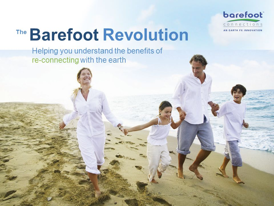 12 This research has lead to the development of a concept called Earthing TM a simple and effective way to re- connect the human body with the earth while in the comfort of our own homes and work places.