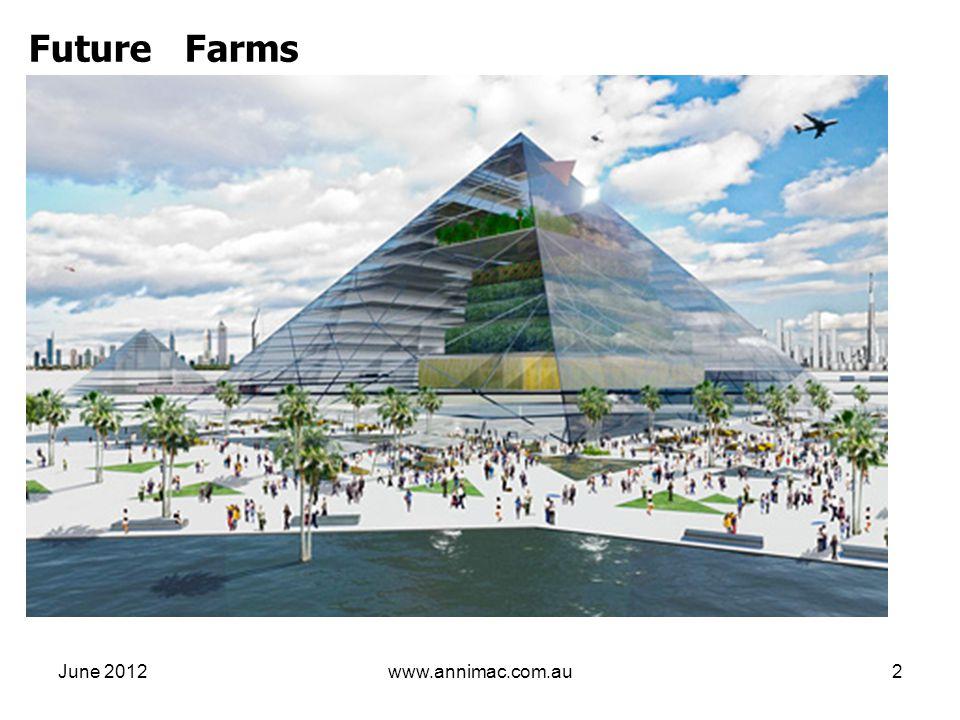 June 2012www.annimac.com.au2 Future Farms