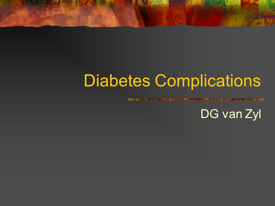 Summary Diabetic neuropathy is a common complication, and result in significant morbidity Diabetic neuropathy present in numerous ways Hyperglycemia is the cause of diabetic neuropathy