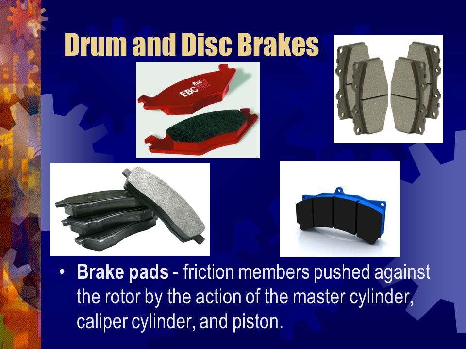 Rotor - metal disc that uses friction from the brake pads to stop or slow wheel rotation.