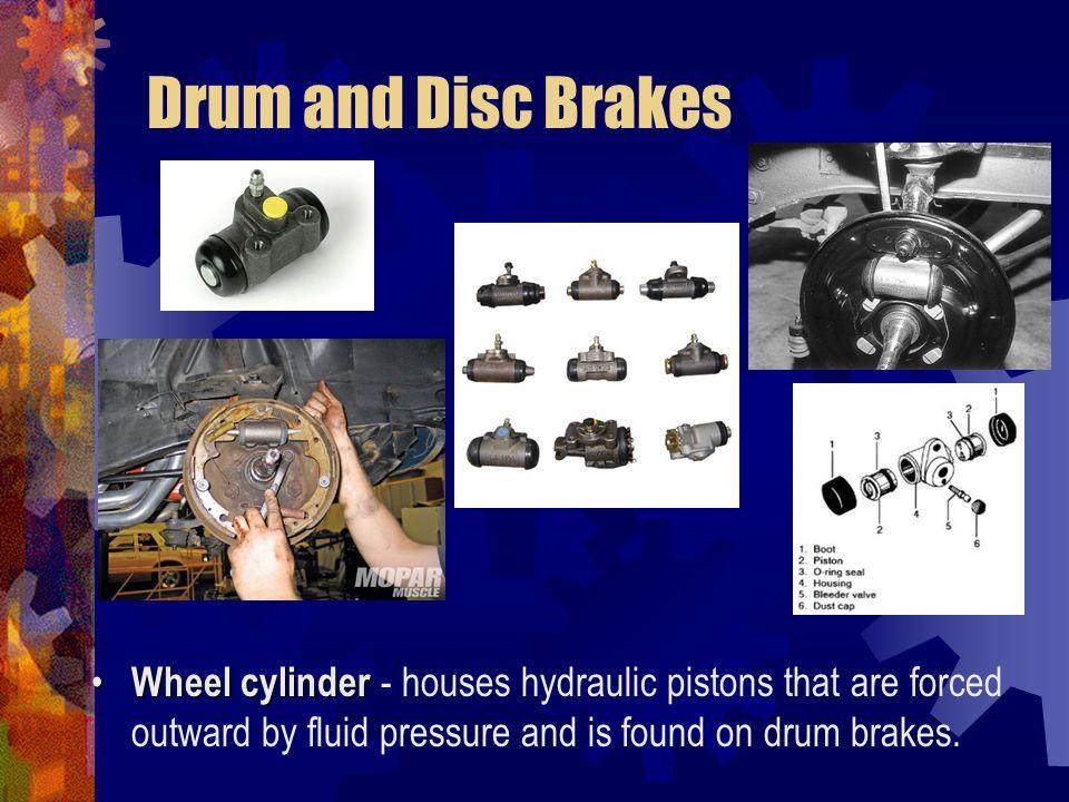 Brake System Components Drum Brake Components