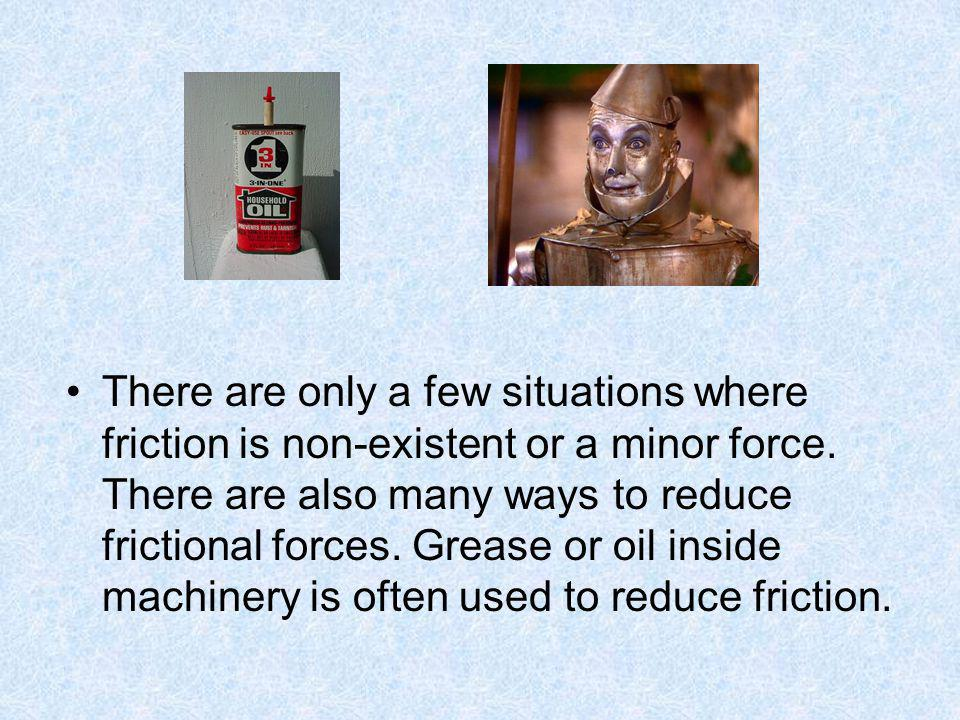 4.Which situation below best demonstrates friction.
