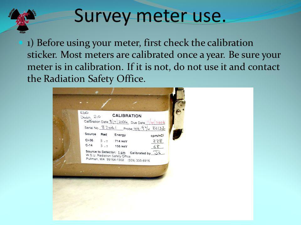Pancake GM Survey meter (thin window)