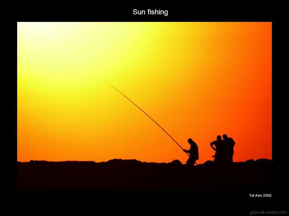 gilad.deviantart.com Sun fishing Tel Aviv 2005