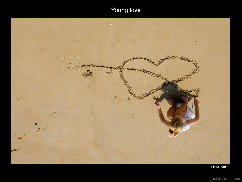 gilad.deviantart.com Young love Haifa 2006