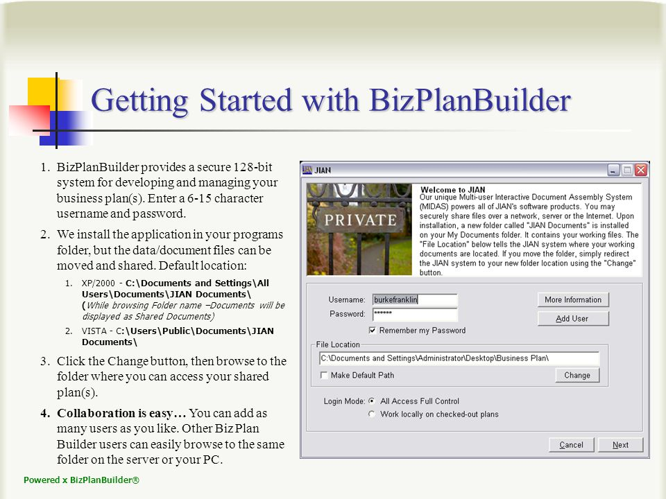 Powered x BizPlanBuilder® Cap Table Demonstrates Growth Investors always ask, How much of the company do I get for my investment.