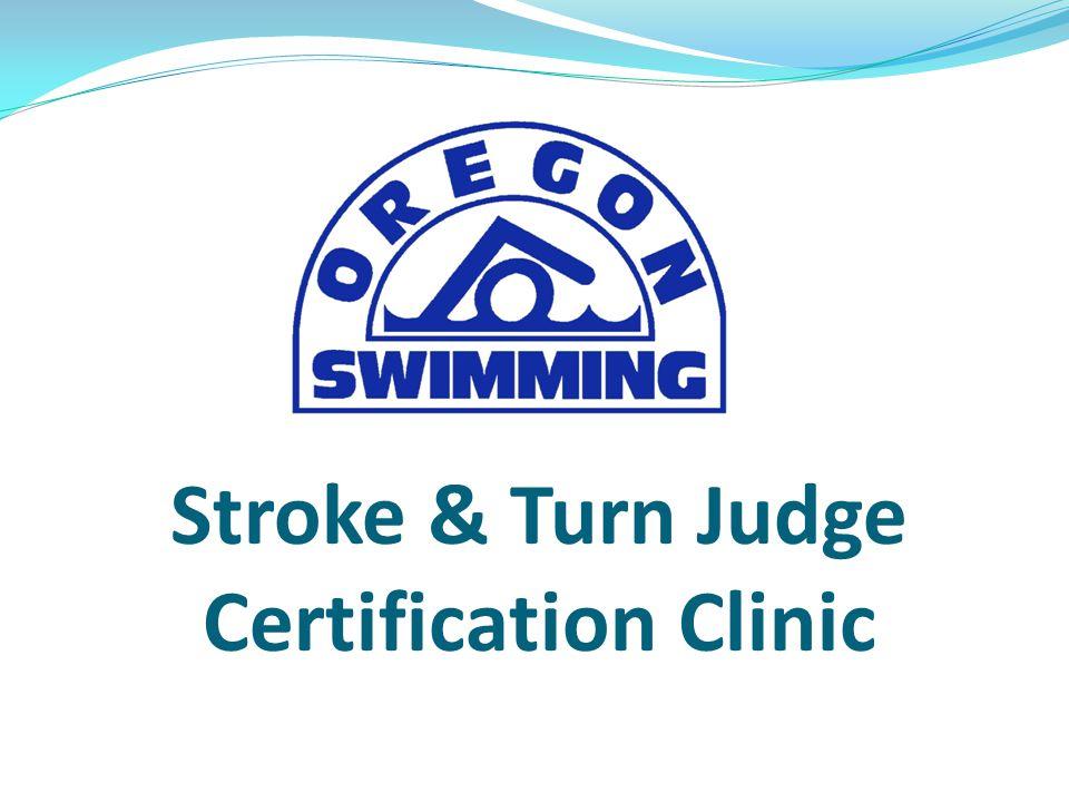 Stroke & Turn Judge Certification Clinic