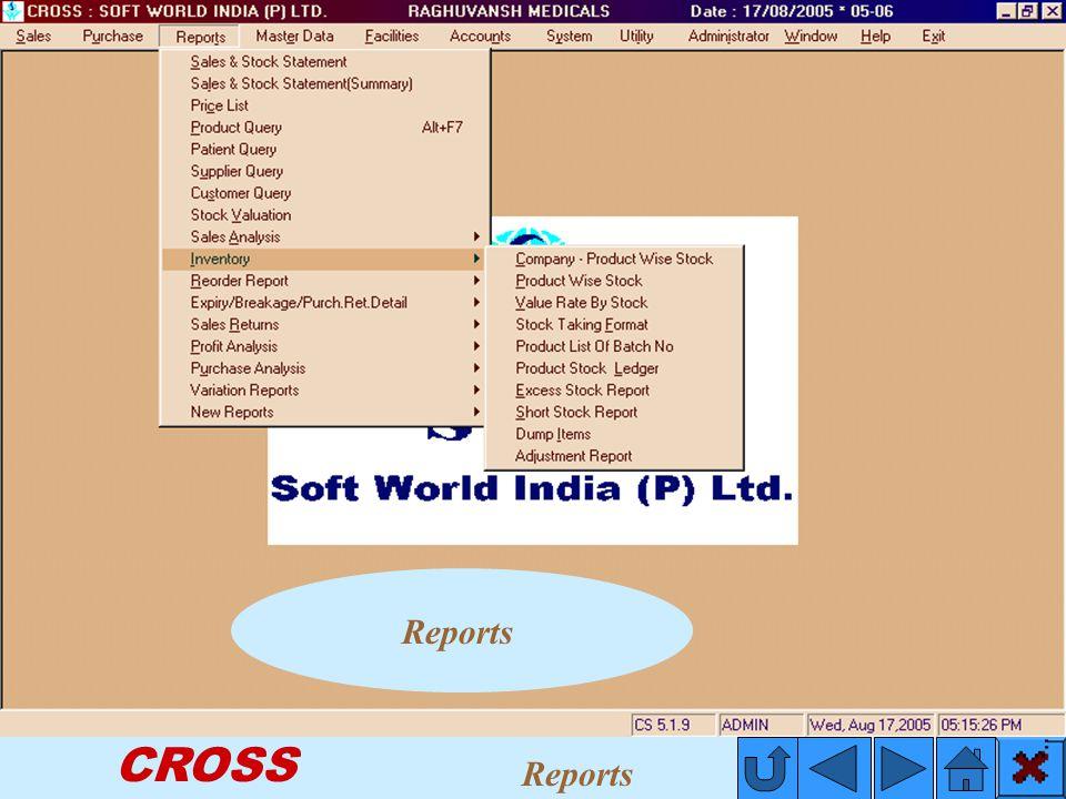 CROSS Reports