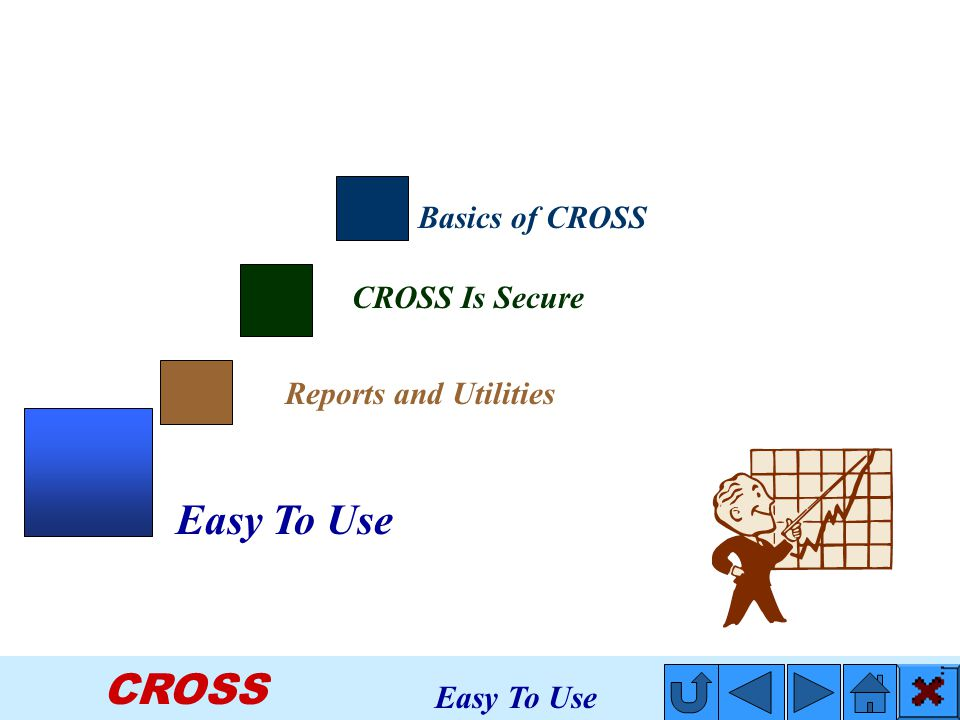 CROSS CROSS Is Secure Basics of CROSS Reports and Utilities Easy To Use
