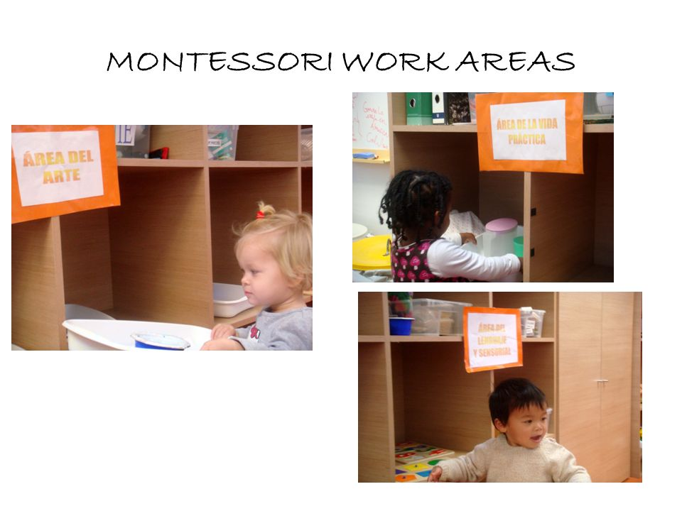 PRACTICAL LIFE AREA At Montessorui house we familiarize the children with domestic works, giving them the opportunity of doing practical life exercises At any place in which there are children, they will want to be part of domestic tasks.