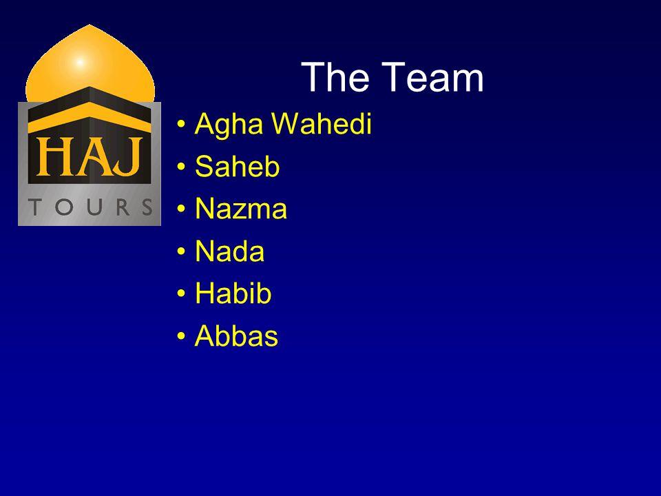 The Team Agha Wahedi Saheb Nazma Nada Habib Abbas