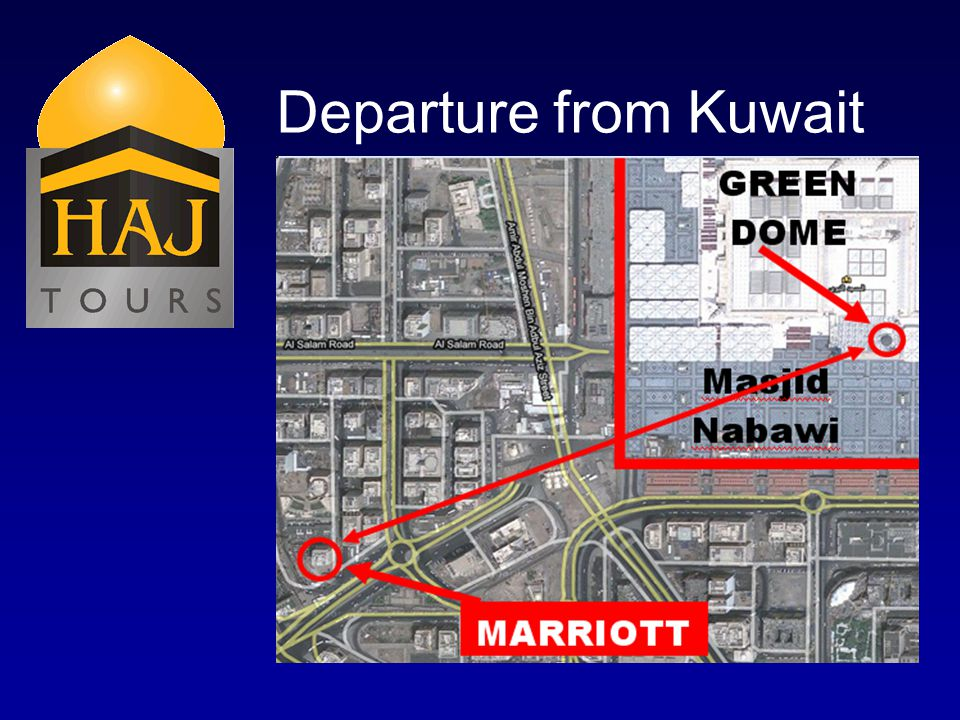 Departure from Kuwait
