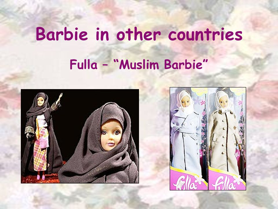 Barbie in other countries Fulla – Muslim Barbie