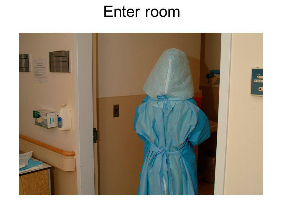 Enter room