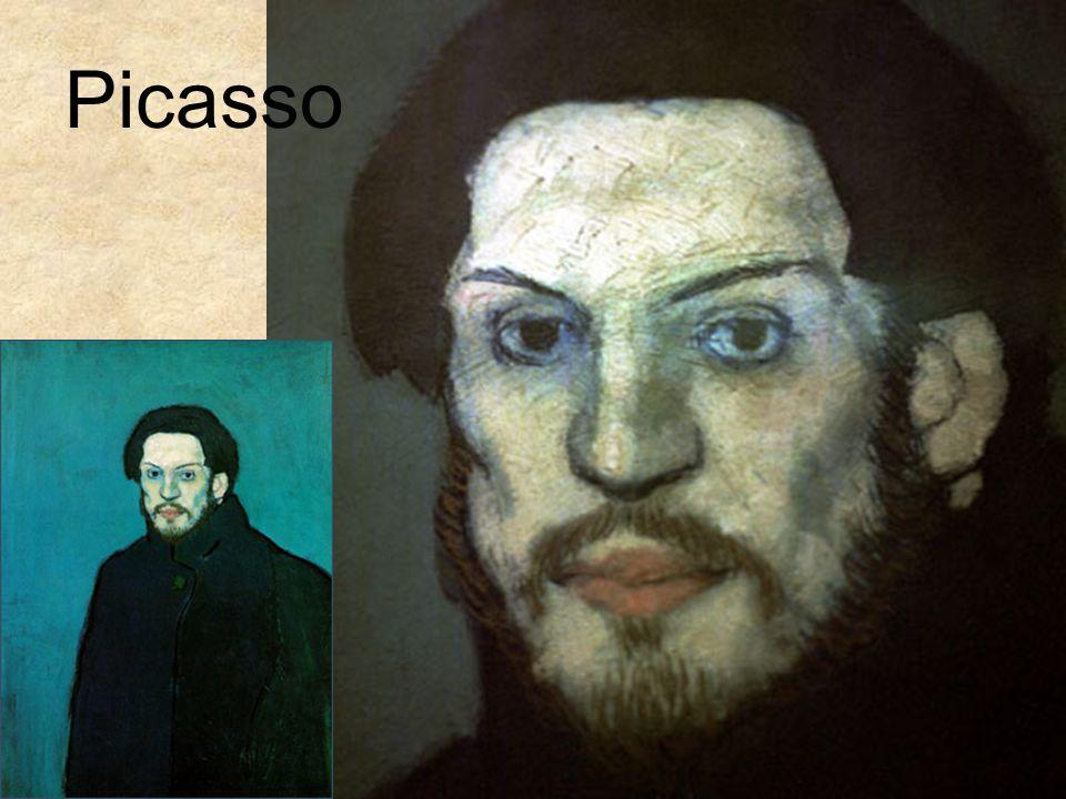 Pablo Picasso Self-portrait - (1899 - 1900)