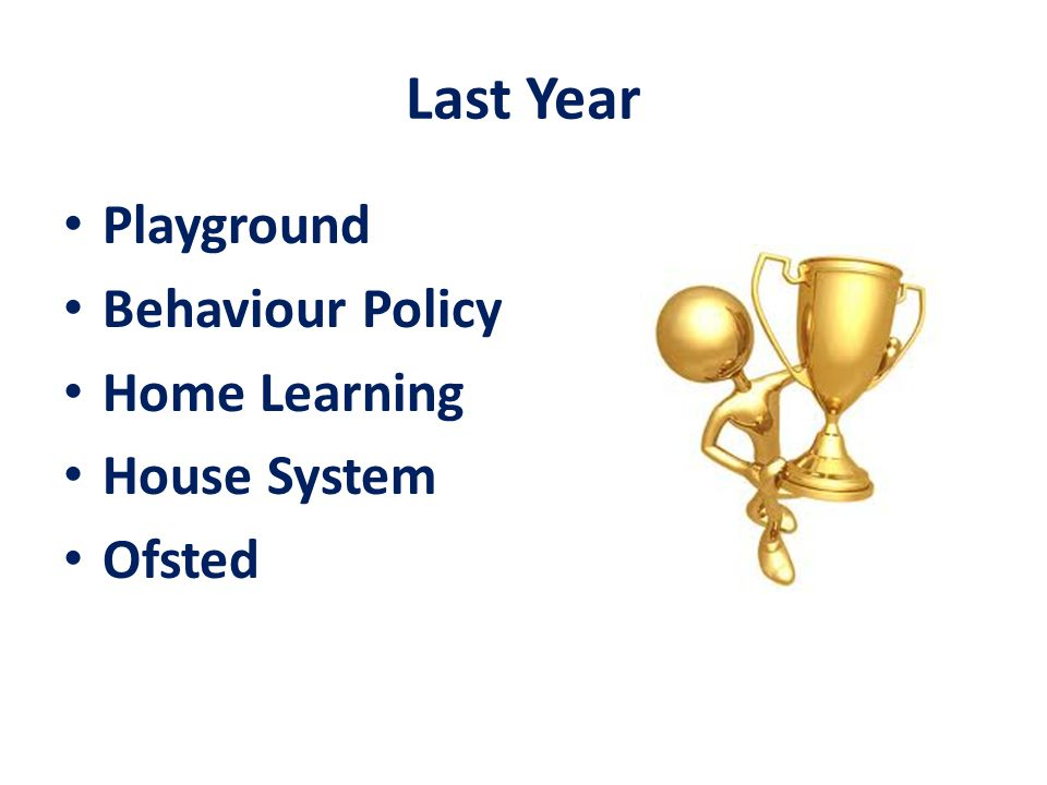 Last Year Playground Behaviour Policy Home Learning House System Ofsted