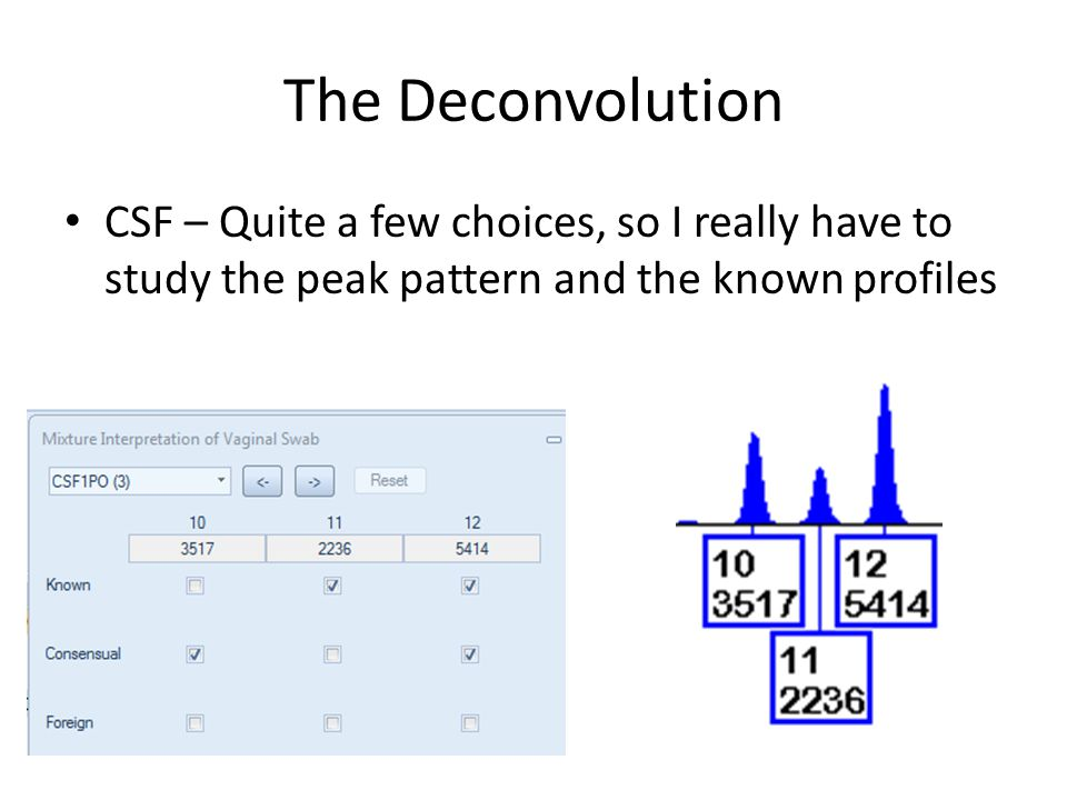 The Deconvolution CSF – Quite a few choices, so I really have to study the peak pattern and the known profiles