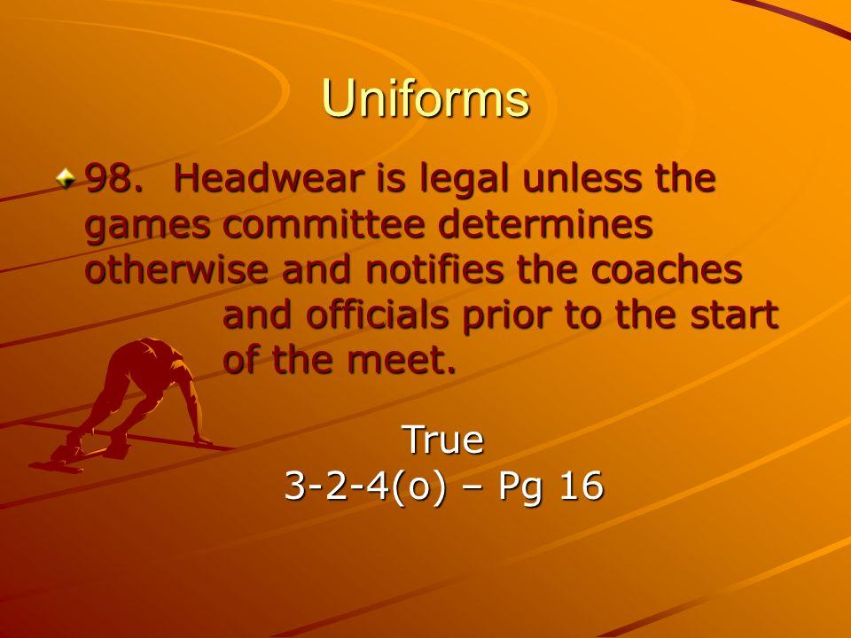 Uniforms 98.