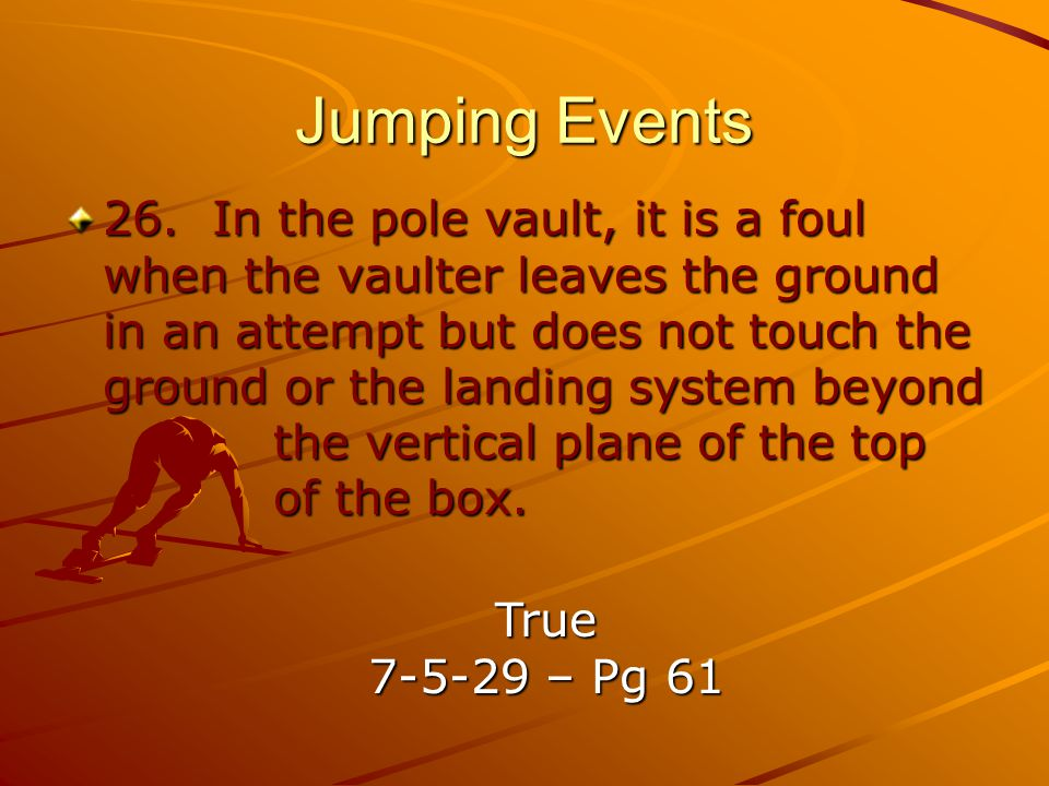 Jumping Events 26.