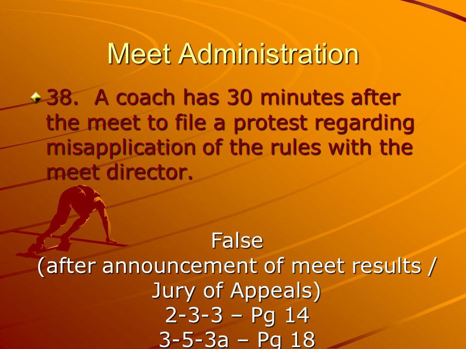 Meet Administration 38.