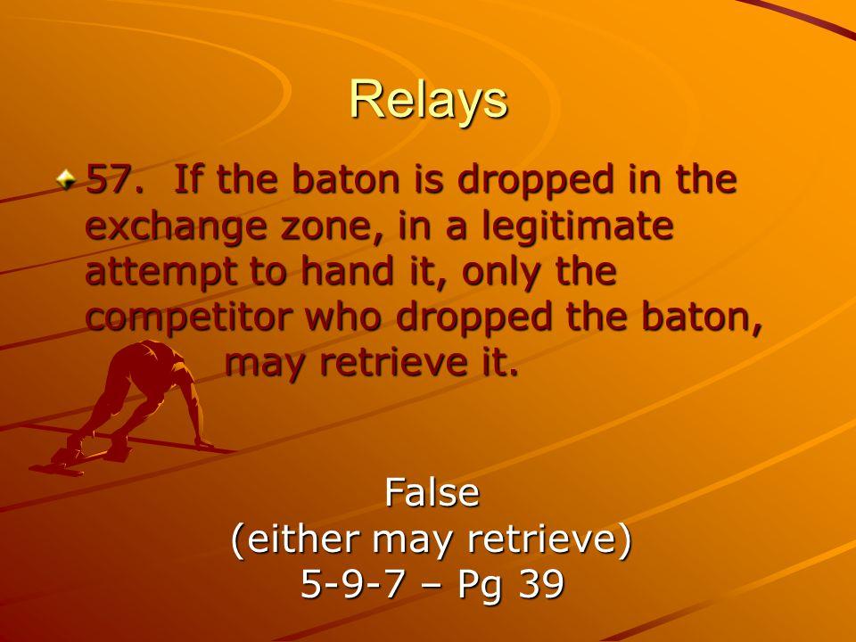 Relays 57.