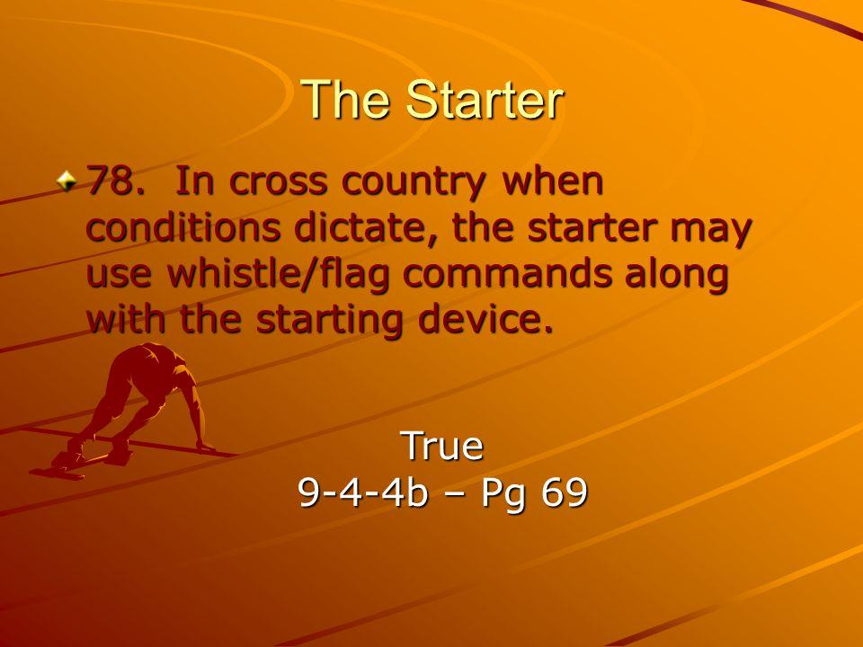 The Starter 78.