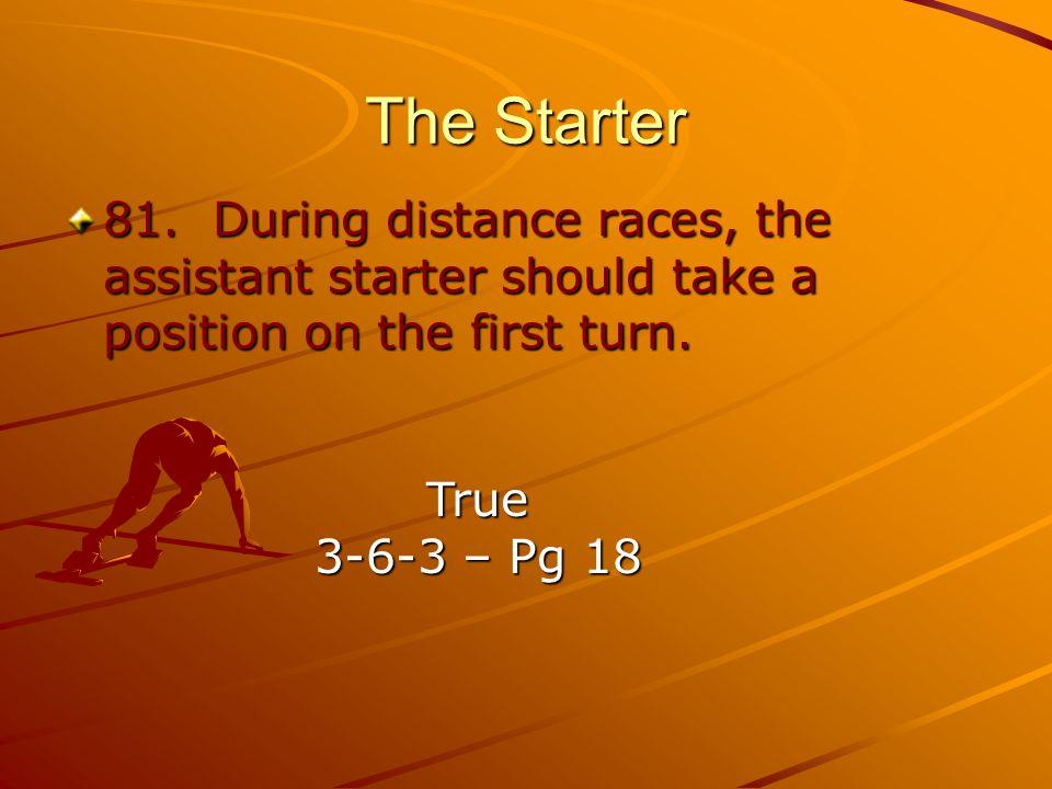 The Starter 81.