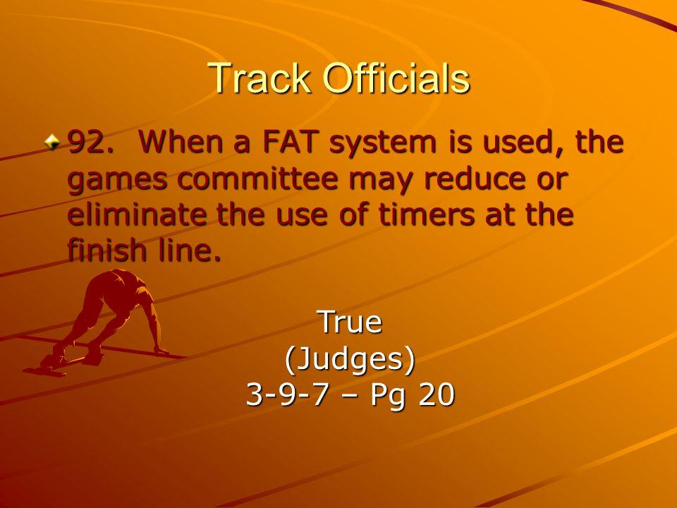 Track Officials 92.